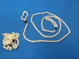 Linka porodowa sznurowa 1 oczkowa - para