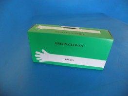 Rękawice rektalne zielone SOFT op. 100szt.