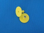 Kolczyk nr 1 żółty ALLFLEX