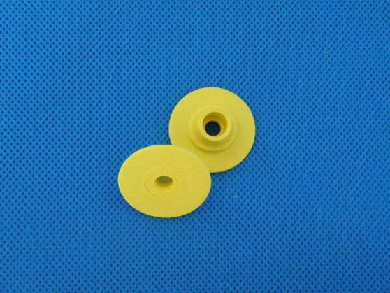 Kolczyk nr 2 żółty ALLFLEX