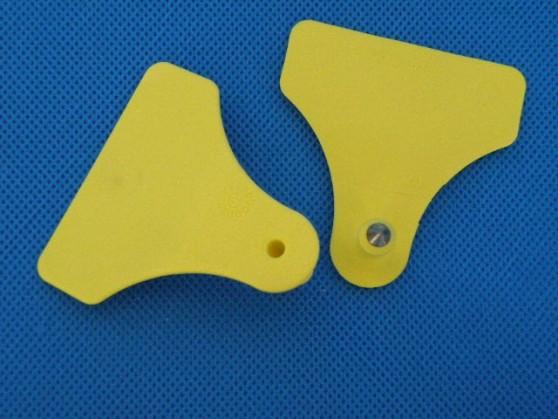 Kolczyk nr 3 żółty ALLFLEX