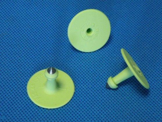 Kolczyk nr 1 zielony ALLFLEX