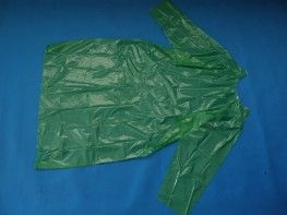 Fartuch zielony typu suknia op. 20 szt.