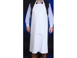 Fartuch porodowy gumowy biały długość 130cm
