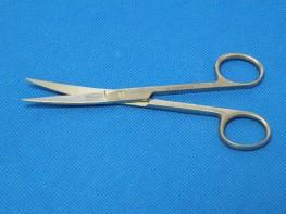 Nożyczki zagięte 14 cm ostre / ostre